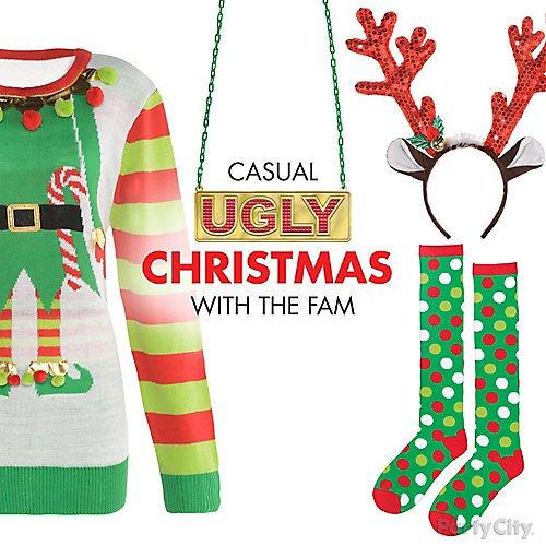16a806f8 Curated image with Adult Christmas Polka Dot Knee Socks, Sequin Reindeer  Headband, ...