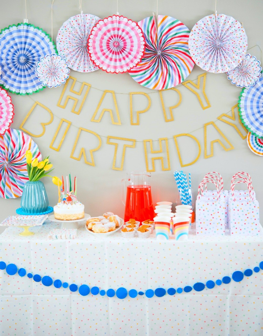 Polka Dot Birthday Party Decorations
