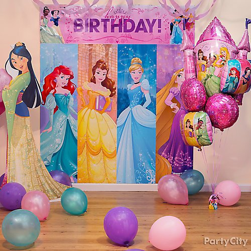 Idea 19 Princess Cutouts Bring Photos To Lifesize Invite Disney Princesses Your Birthday