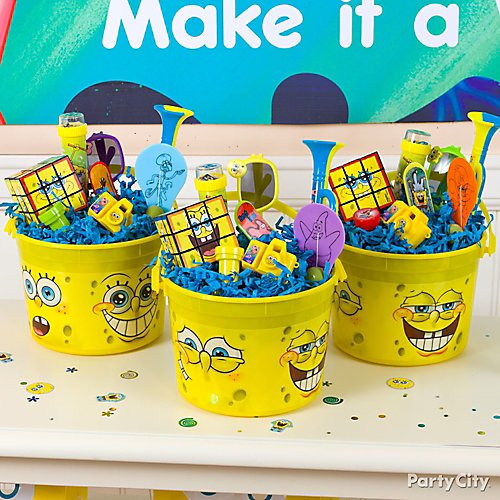 Idea 7 Deck Out Party Favor Buckets With Sunken Treasure