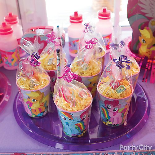 Idea 6 Make Favor Cups With Pony Stuff