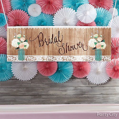 Rustic Charm Bridal Shower  Party City