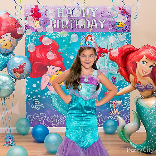 Idea 1 Dress Her Up For Spe Shell Day A Little Mermaid Party