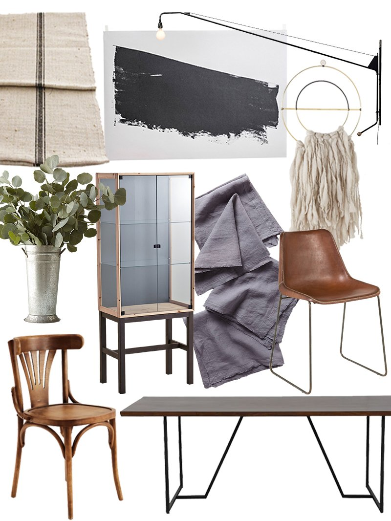 create the look organic modern dining room shopping guide