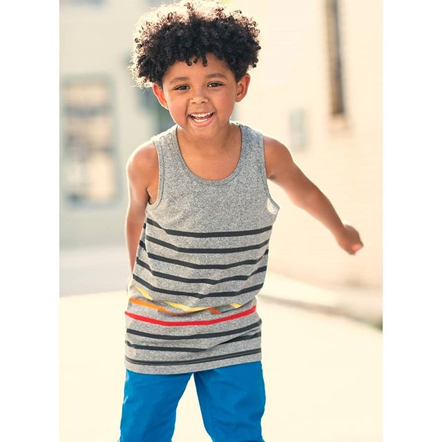 8305b1212 ... Boys' Stripes Tank Top - Cat & Jack Gray! see all your loves ·  instagram photo by Gabe Griffin-Child Model/Actor