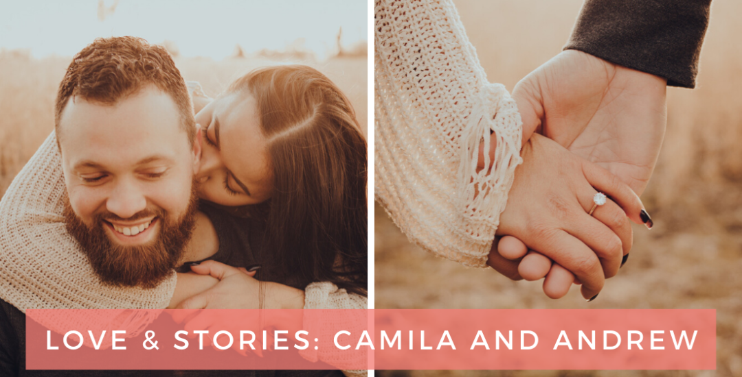 Love & Stories blog post featuring Indiana natives, Camila and Andrew
