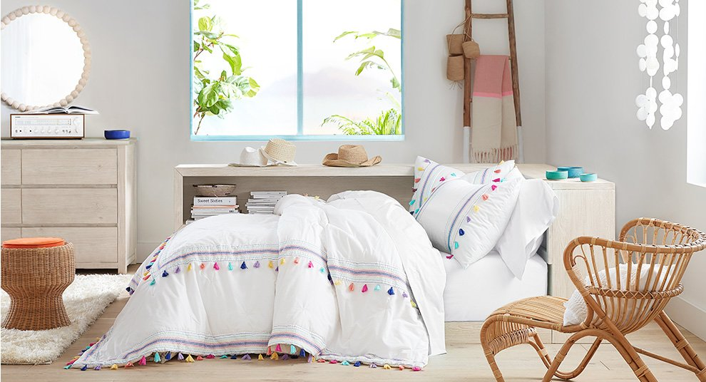 Boho Chic Bedding Decor Pottery Barn Teen