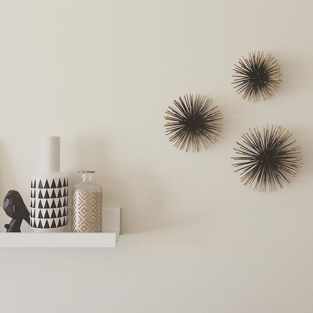 Wonderful Sea Urchin Wall Décor Gold - Project 62 - Target Finds YH25