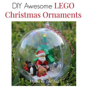 These Adorable LEGO Ornaments Were So Much Fun To Make Thanks