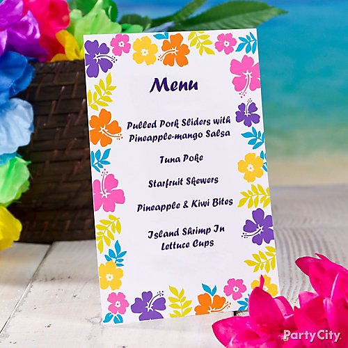 Idea 12 Give Guests A Taste Of Whats In Store With Custom Menus
