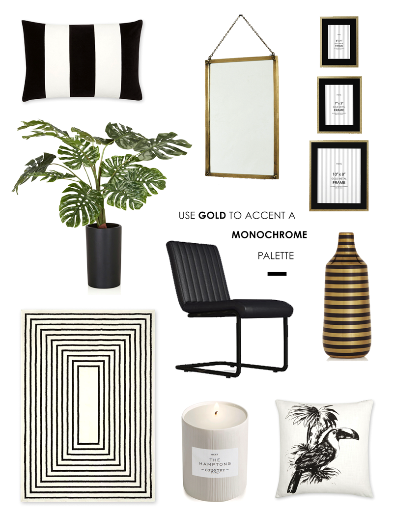 Hamptons-style accessories for your home