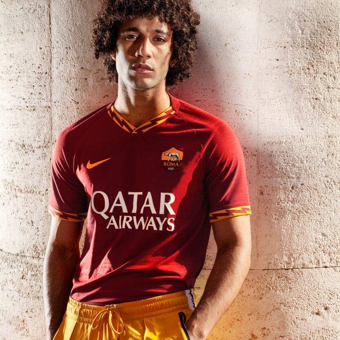 Camiseta del AS Roma para la primera equipación 2019-20