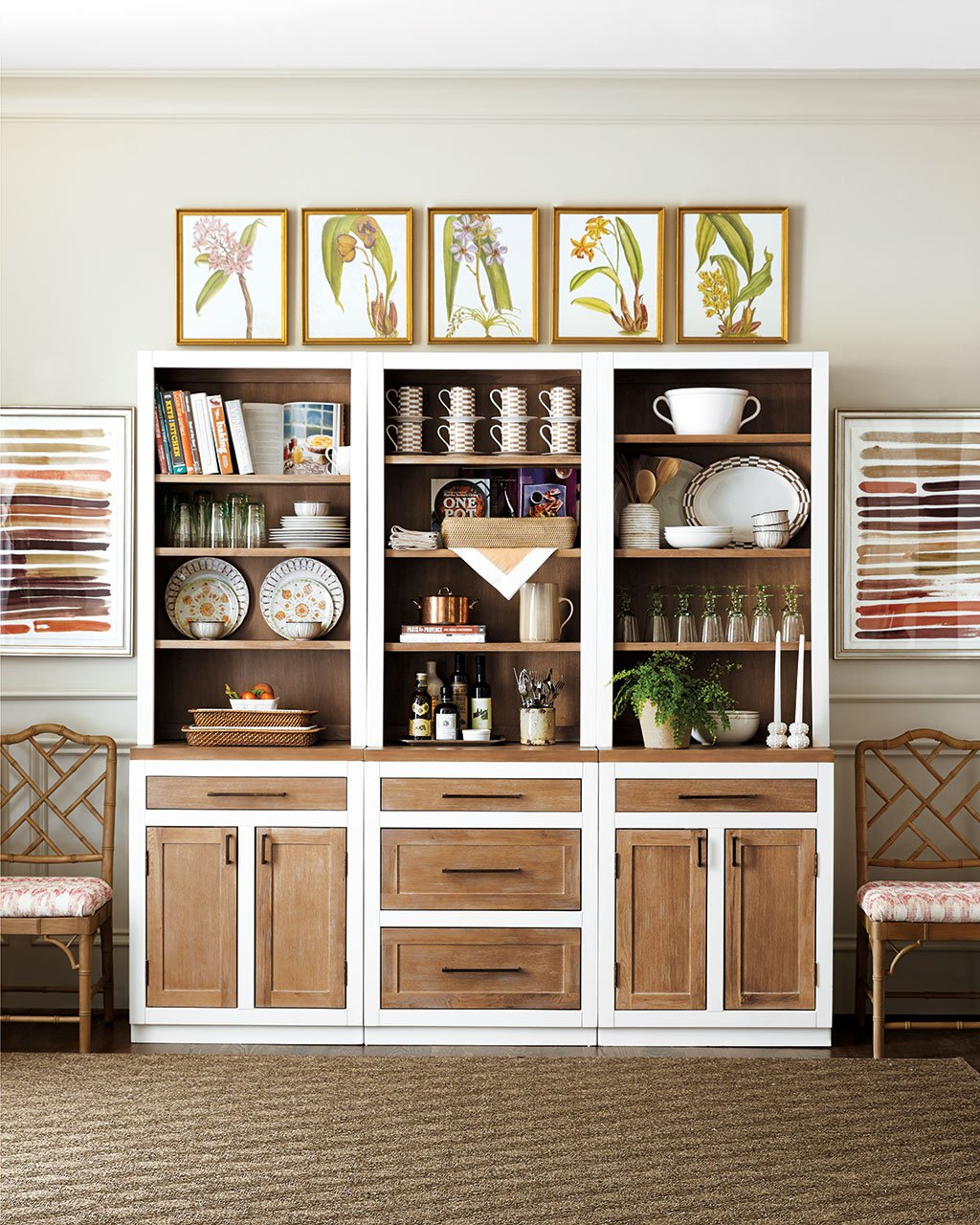 How To Style Your Kitchen Wall Shelves Decorate