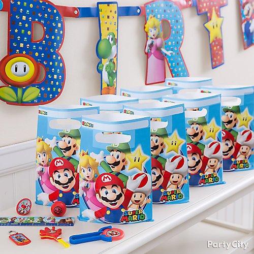 Super Mario Party Ideas Party City