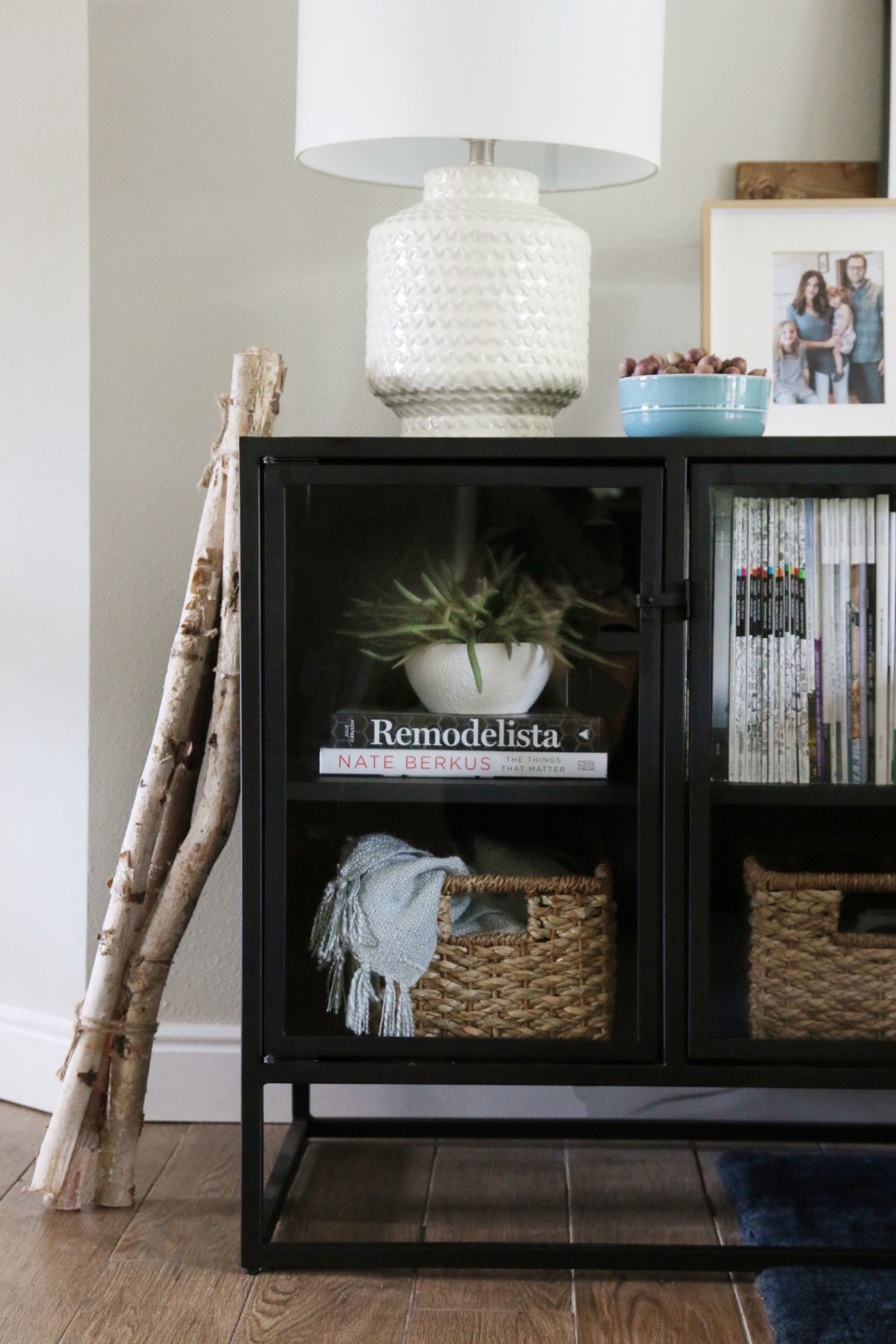 Subtle Fall Living Room Decor | Crate and Barrel Blog