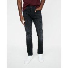 Shop Slim Black Destroyed Stretch+ Jeans and more