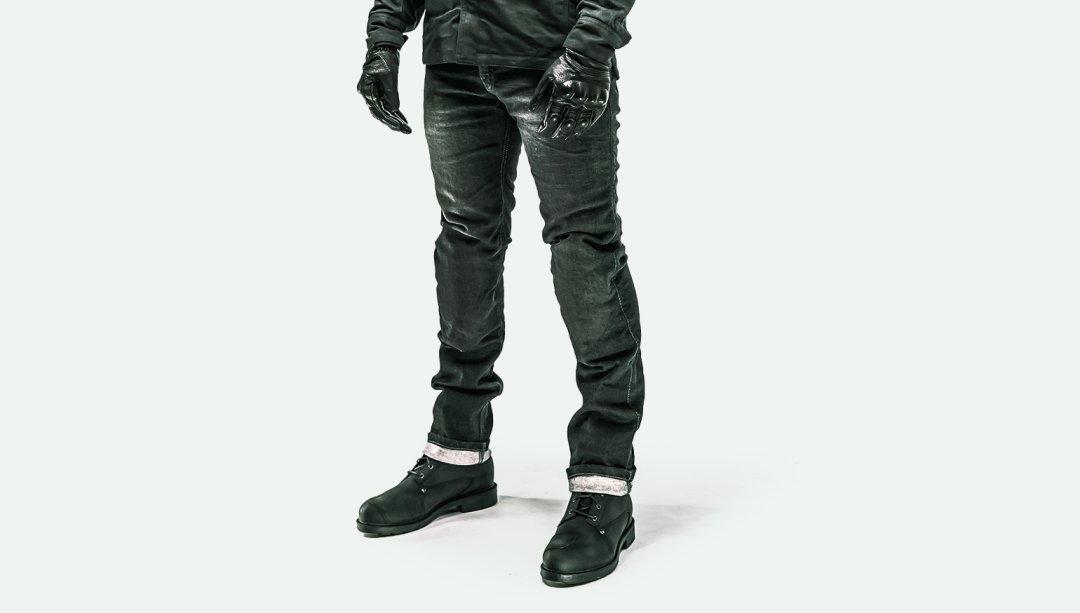 RKsports Motorbike Motorcycle Kevlar Denim Jean Trouser Black Blue