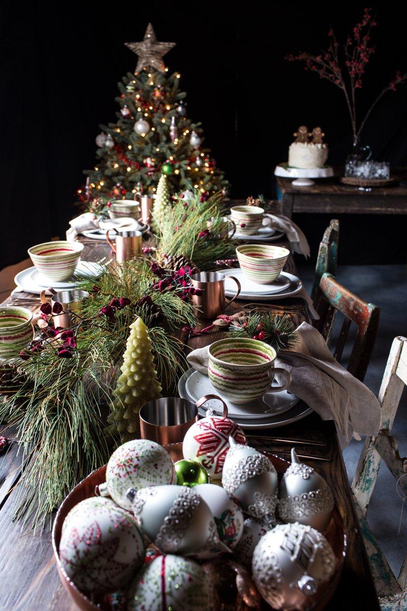 Decorate the christmas tree fa la la la - Shop Glitter Circle Silver Drop Ornament Fa La La Bowl Tall Tree Candle Long Needle Pine Artificial Garland And More