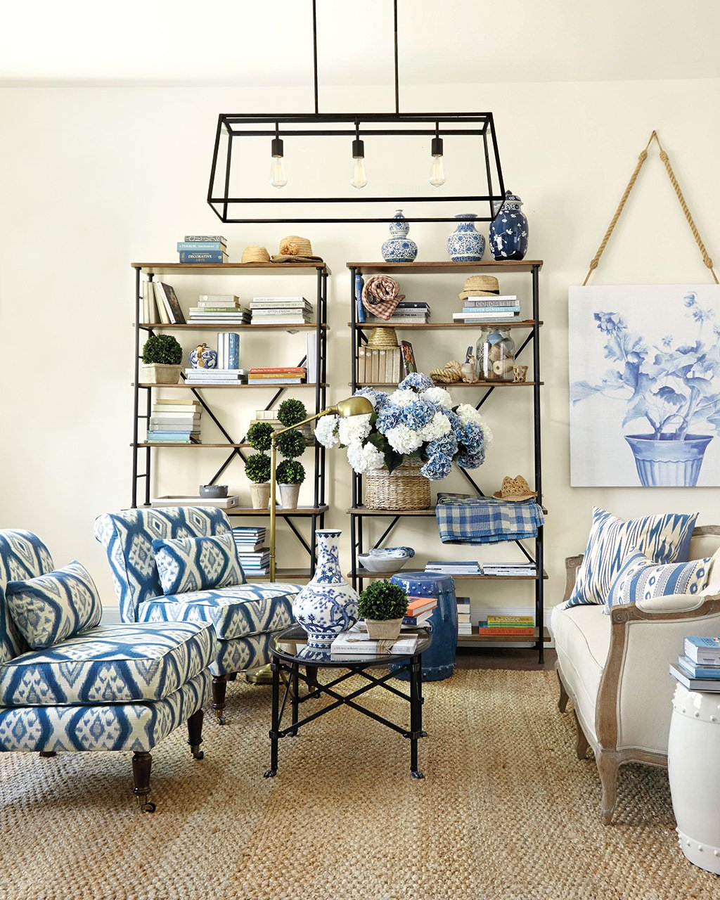 15 ways to layout your living room how to decorate shop eldridge rectangular pendant olivia cocktail table classic garden seat sonoma tower tybee blue fabric by the yard ballard designs sofia settee