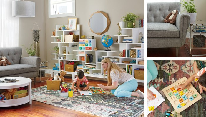Kids playroom design ideas the land of nod Land of nod playroom ideas