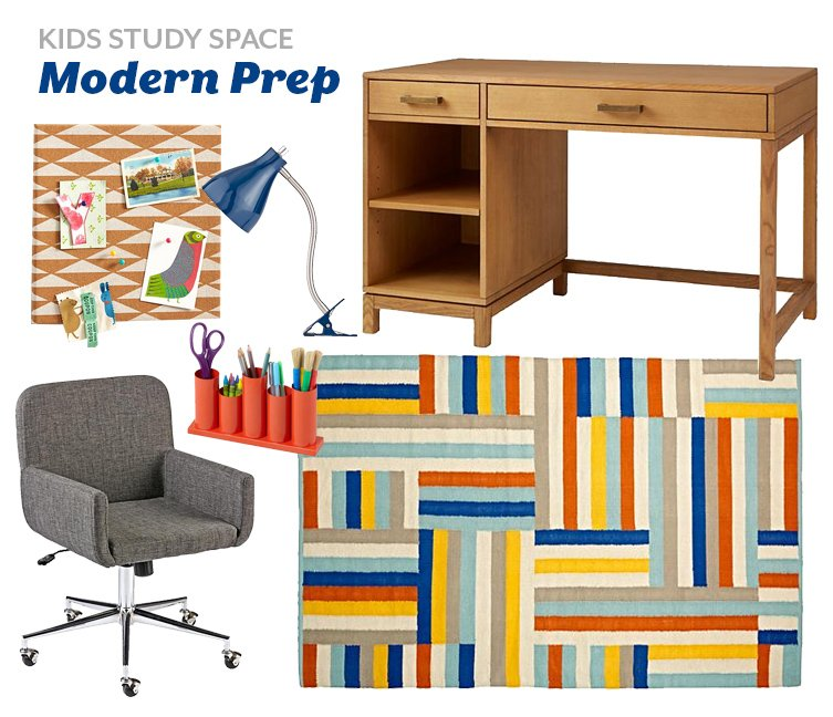 Kids Workspaces: Styling Inspiration