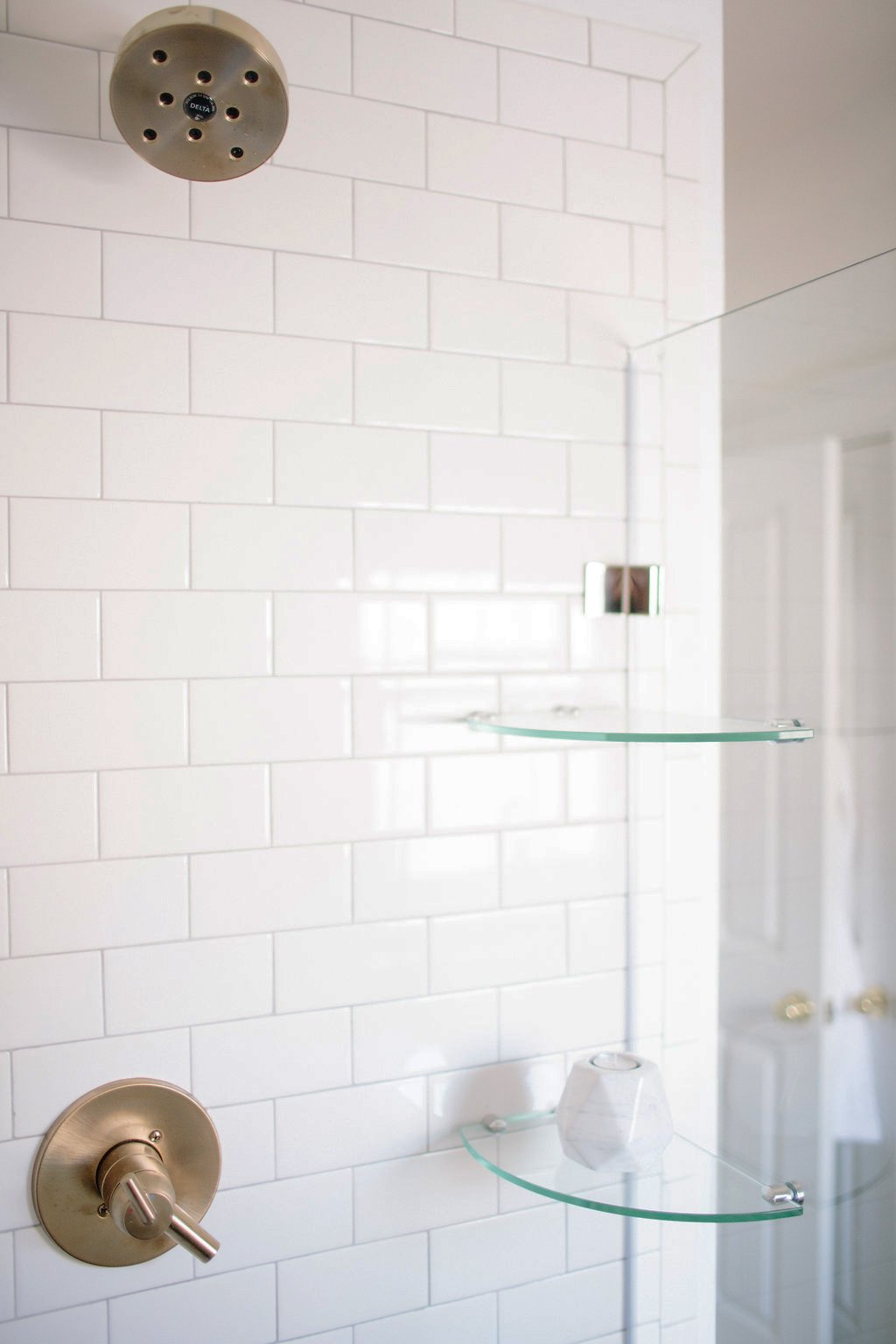 Our Master Bathroom Renovation Fixtures and Finishes