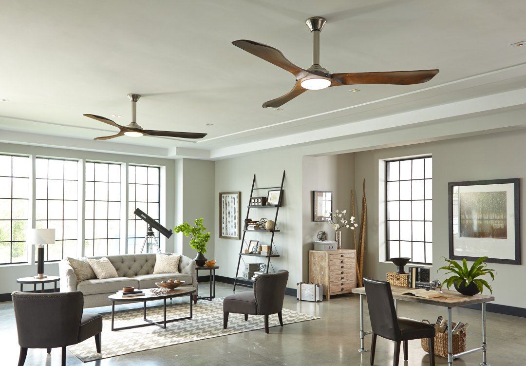 how to choose a ceiling fan size guide blades airflow. Black Bedroom Furniture Sets. Home Design Ideas