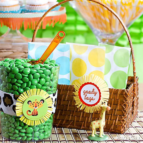 Princess Baby Shower Favor Bar Idea - Party City