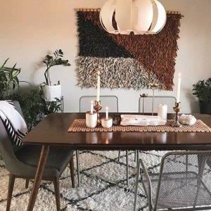 52e3eeda94 Belham Living Carter Mid-Century Modern Dining Table | Hayneedle