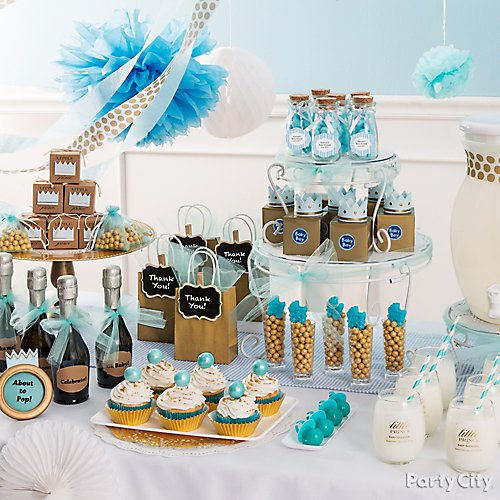 Little Prince Baby Shower Idea Gallery Party City
