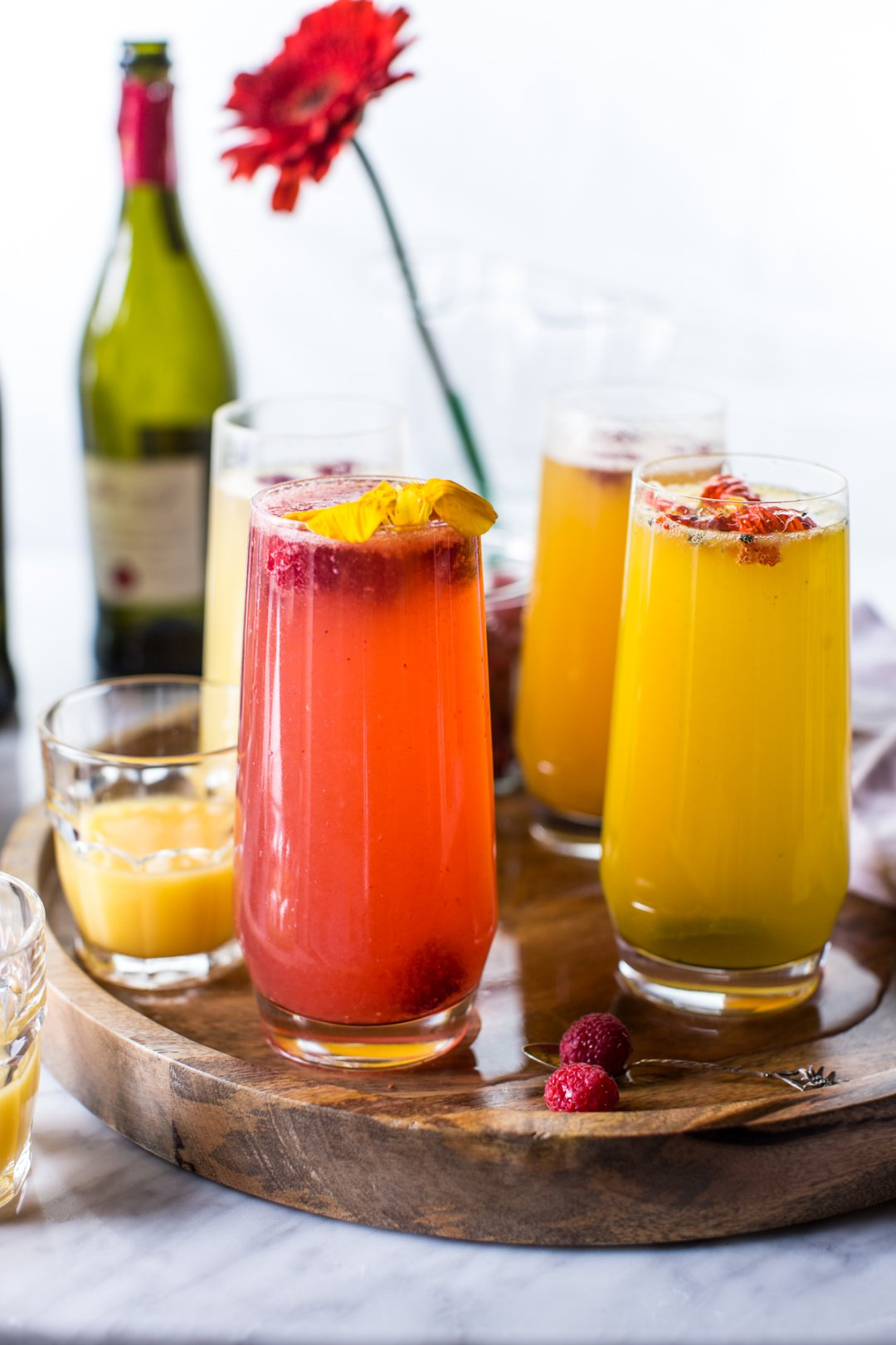 how to make a frozen bellini