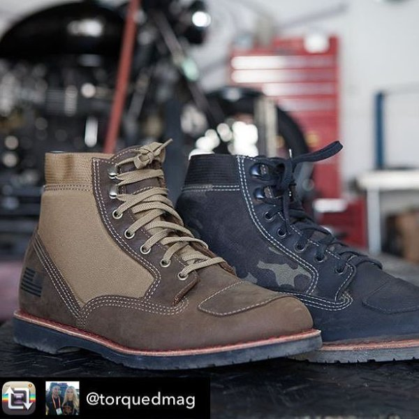 New #madeinusa PowerSports boots looking great! Get yours at  batesfootwear.com Repost from