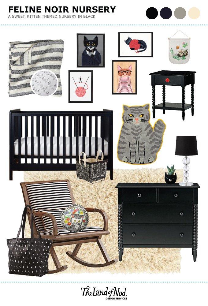 Feline Noir Nursery