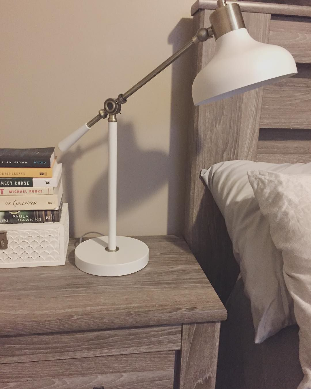 Crosby Schoolhouse Desk Lamp White Threshold Target