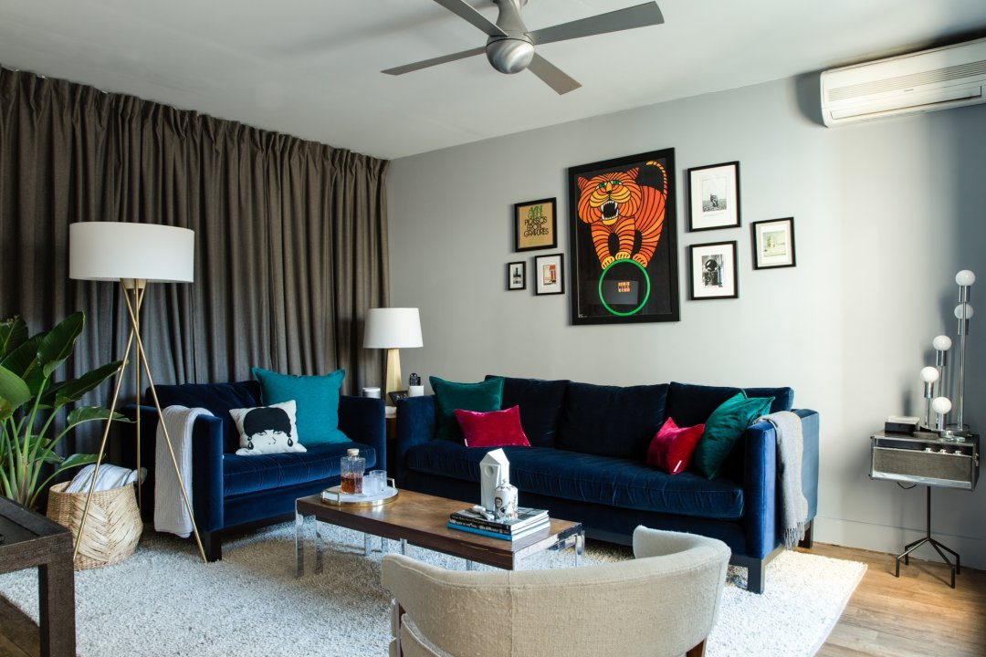 House Tour A Comfortable Lux Brooklyn Abode Apartment