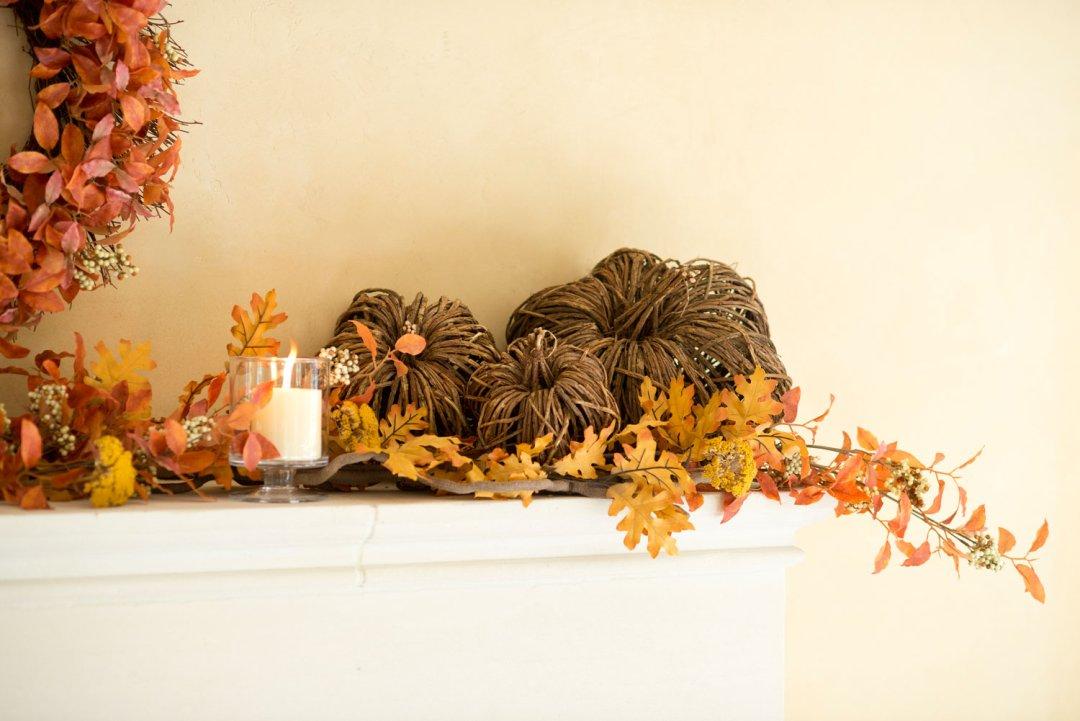 Fall Mantel Decorating Ideas Crate And Barrel Blog