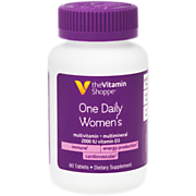 Shop the Vitamin Shoppe One Daily Women's Multivitamin & Multimineral with Vitamin D3 (60 Tablets) and more