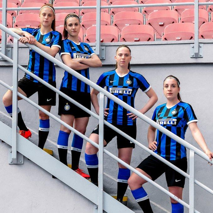 Equipo femenino del Inter de Milán