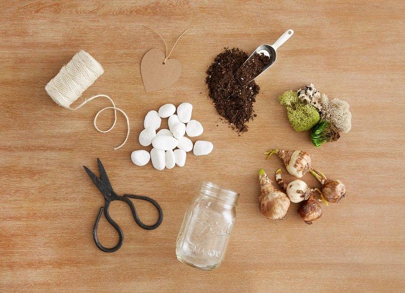 DIY Flower Bulb Mason Jar Gifts for Mom - Discover, A World Market Blog
