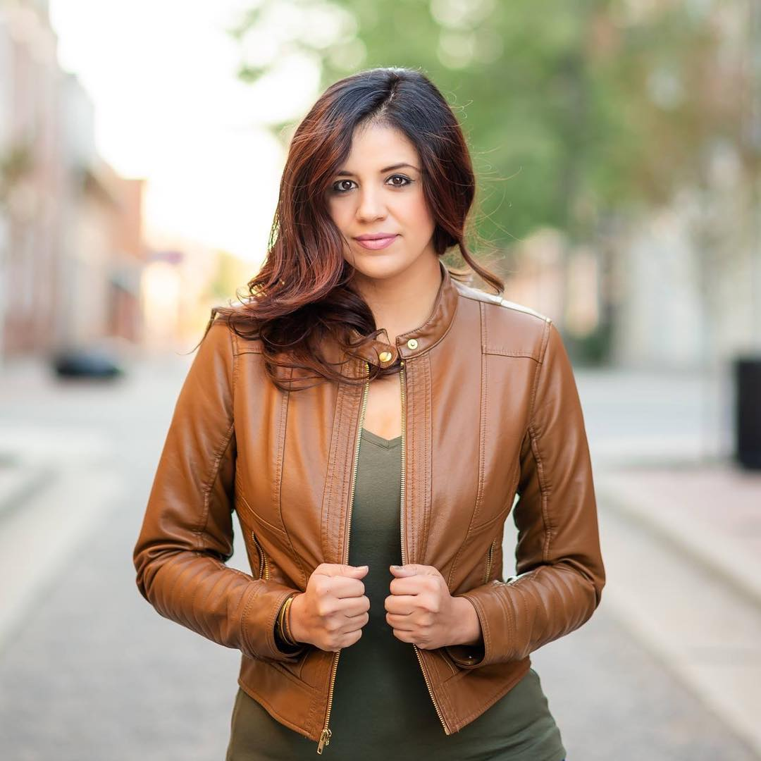 Women S Faux Leather Moto Jacket A New Day Brown Target Finds