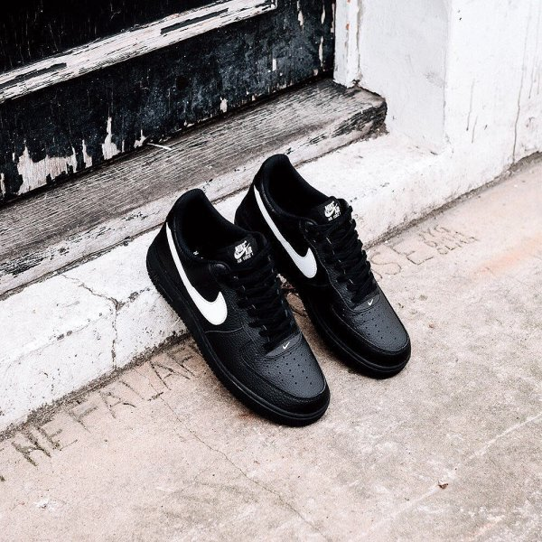 The  nike Air Force 1 Low Black Sail part of the  Black Pack d8001dc3e
