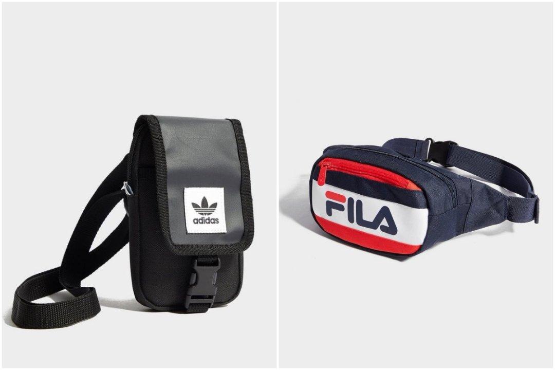 Marsupio Fila e borsello adidas Originals