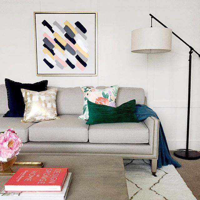 Pendant Floor Lamp Antique Brown Threshold Target