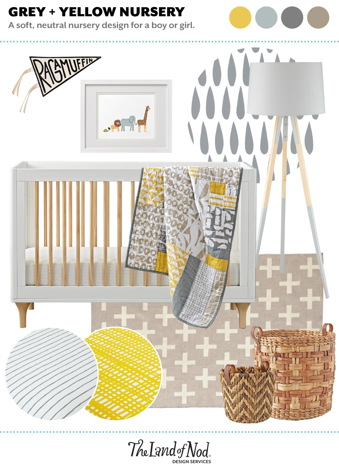Grey & Yellow Neutral Nursery