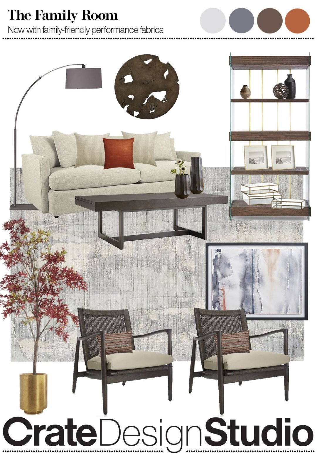 Curated image with lounge ii 93 sofa archive grey coffee table