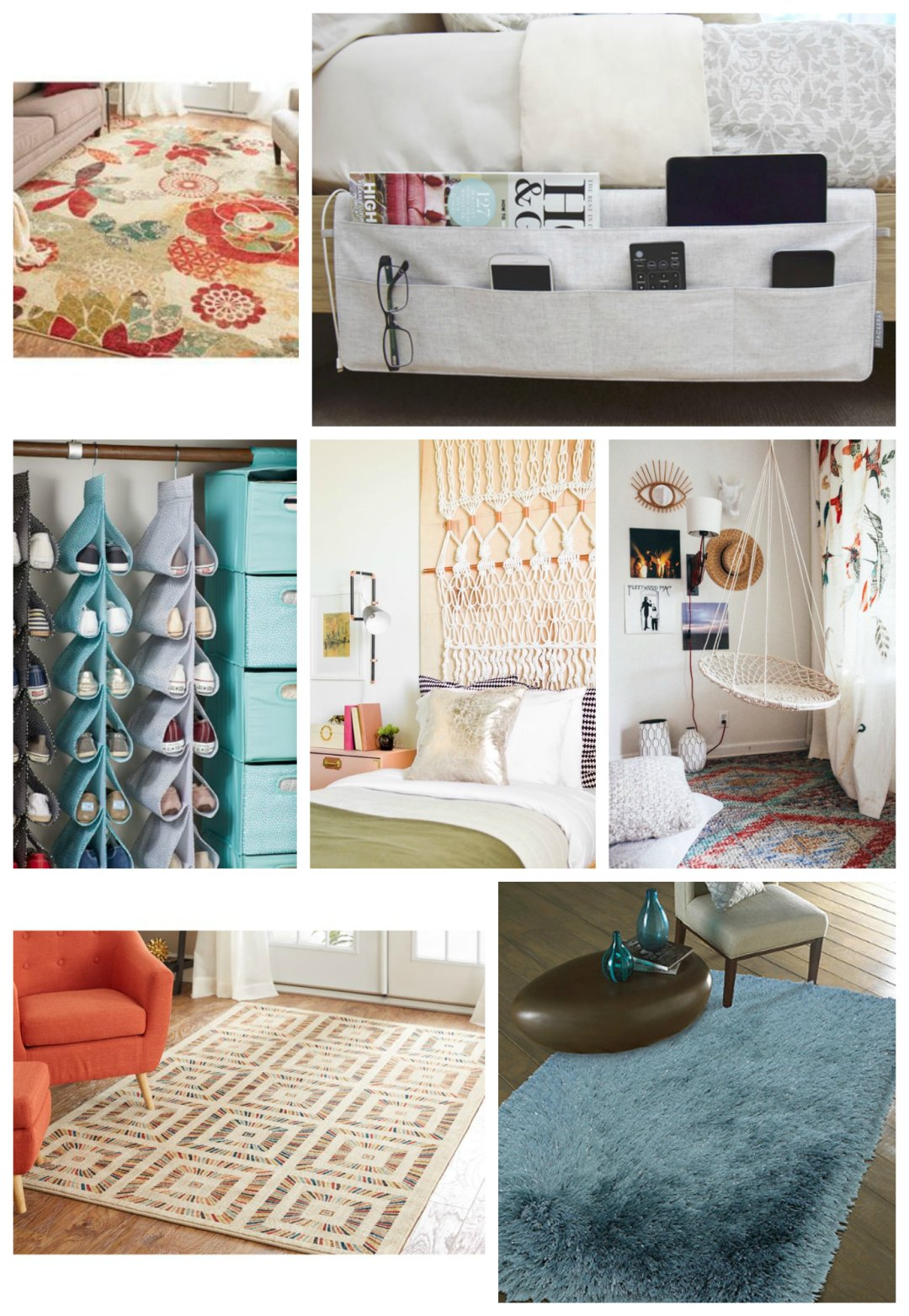 dorm room decor mood board mohawk homescapes. Black Bedroom Furniture Sets. Home Design Ideas