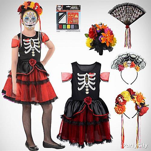 NEW Boutique Villains Long Sleeve Girls Halloween Dress
