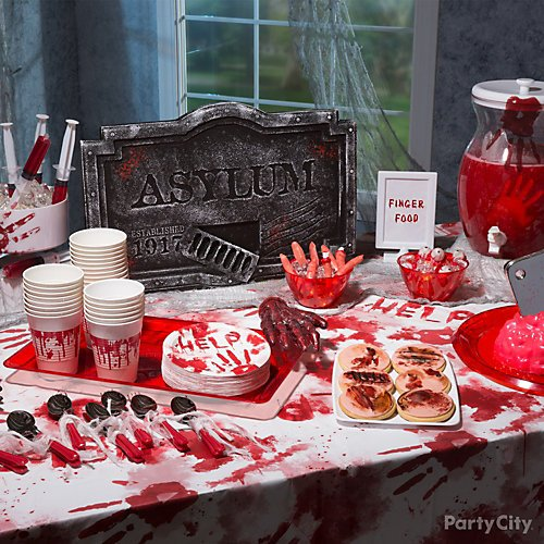 Show Them Your Mad Party Skills With An Asylum Theme Dinner Party City