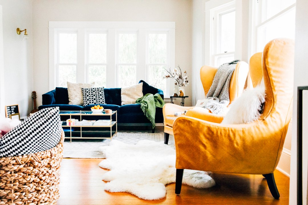 How To Style Bay Windows The Crate And Barrel Blog