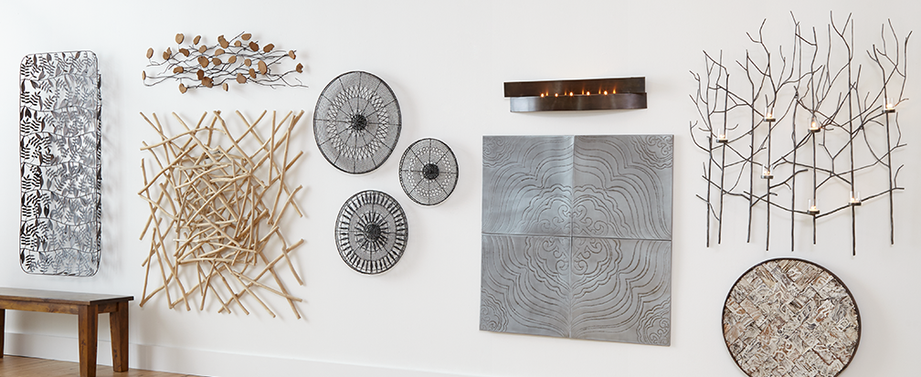 Metal Wood Wall Decor wall art ideas | crate and barrel